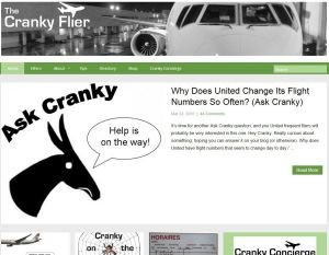 The Cranky Flier Blog