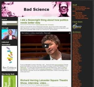 Bad Science Blog
