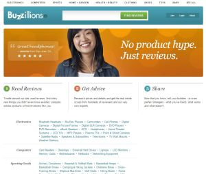 Consumer review blog