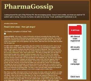 Pharma Gossip Blog