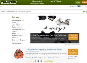 Tomoson Freebies and Samples
