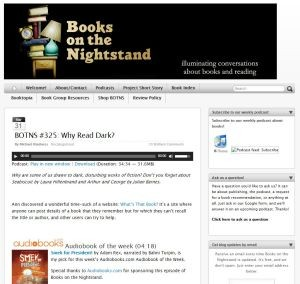 Books on the Night Stand Blog