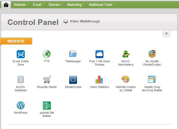 iPage Control Panel