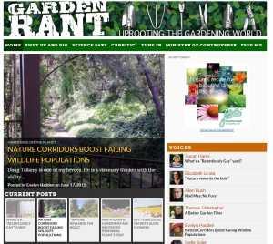Garden Rant Blog