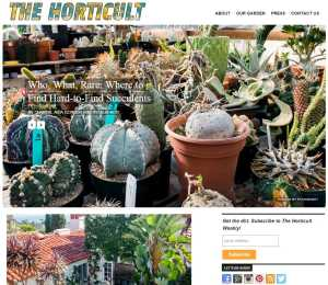 The Horticult Blog