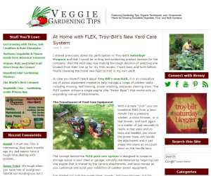 Veggie Gardening Tips Blog