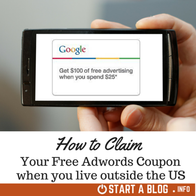 Claim your Free Adwords Coupon Australia