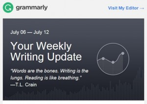 Grammarly Weekly Update