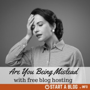 Free Blog Hosting Question