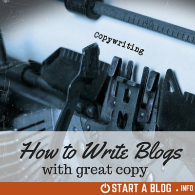 How to Write Blogs with Great Copy