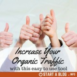 Increase your organic traffic with this easy to use tool