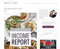 Pinch of Yum Income Report