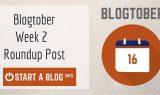 Blogtober Week 2 Roundup Post