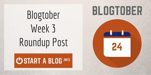 Blogtober Roundup