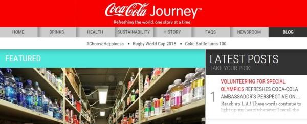 Coca Cola Business Blog