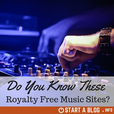 Royalty Free Music Sites