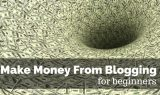 Make Money from Blogging for Beginners