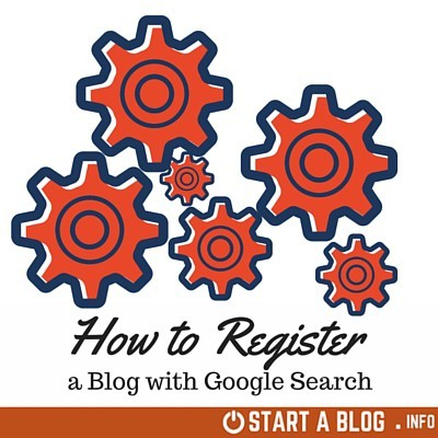 How to Register a Blog with Google Search Engine