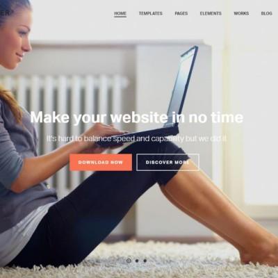 Jupiter WordPress Template