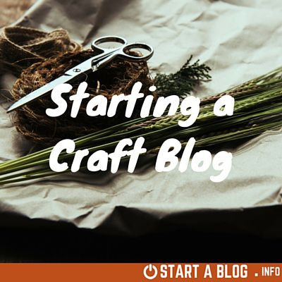 Starting a Craft Blog – Keeping it in the Family