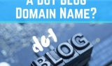 Dot Blog Domain Name